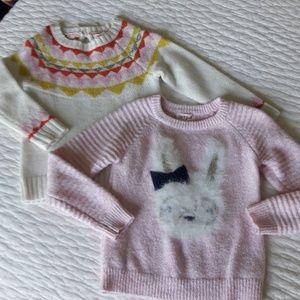 Little girls sweater bundle 🐰